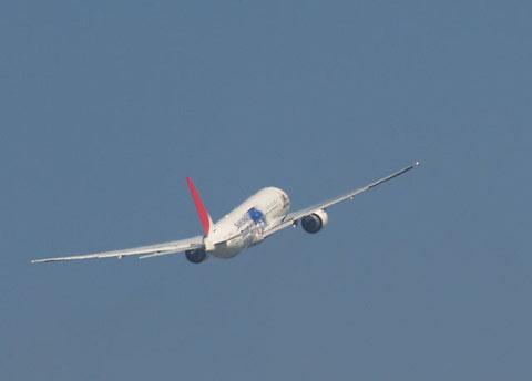 大空へ侍JAPAN機