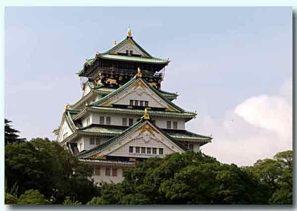 昨日の大阪城