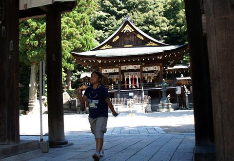 近江八幡山門