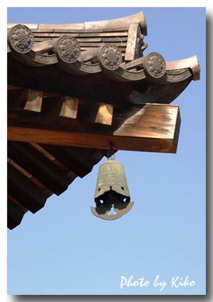 金堂の屋根飾り