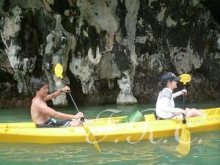 カヌー パンガー セルフパドルコース プーケット島 ツアー