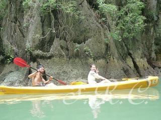 カヌー プーケット島 パンガー湾 ジェームズボンド 観光ツアー