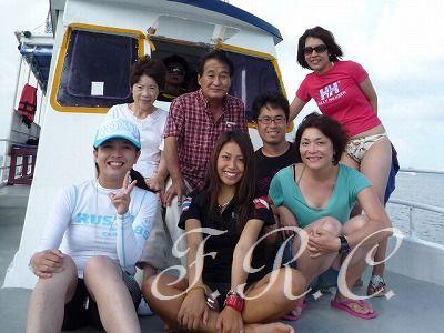 観光ツアーでパンガー湾