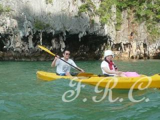 プーケットのカヌー予約は島風案内人まで