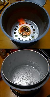 s-燃焼テストと湯沸かしテスト
