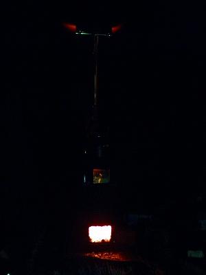 s-夜の薪ストーブ