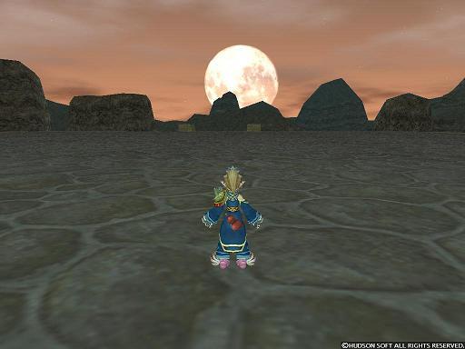 月が昇ります♪