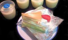 プリンショートケーキ&なめらかプリン