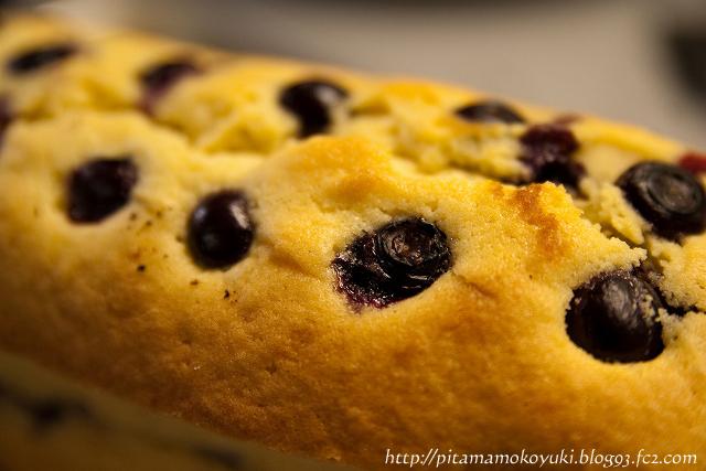 ブルーベリーチーズケーキ110205_1