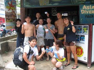 タイ|タオ島|ダイビング|オープンウォーター