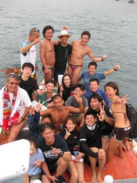 タイ・タオ島・ダイビング・セイルロック