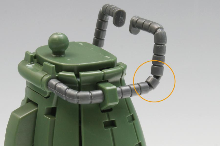 HGUC ザクII F2型 素組みレビュー
