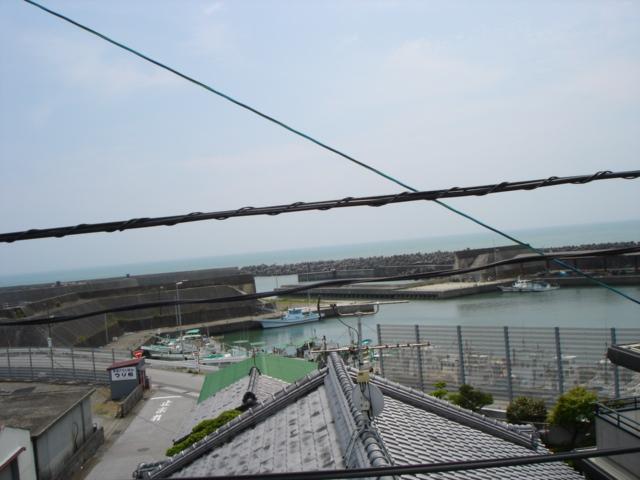 あかおか駅からの景色