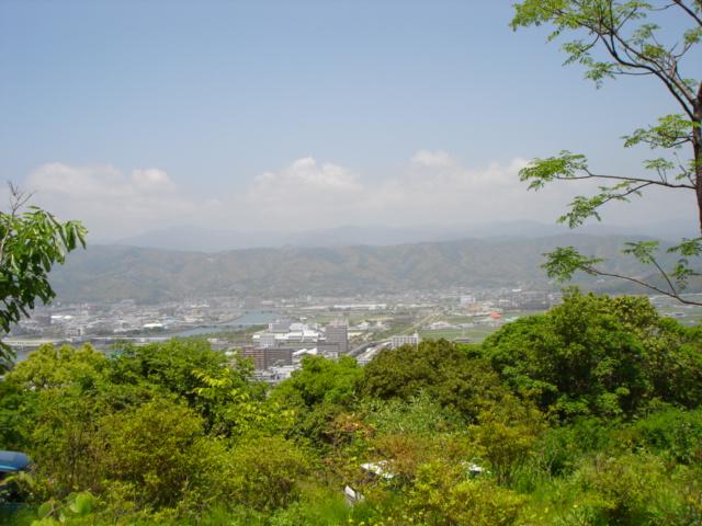 高台から見た景色