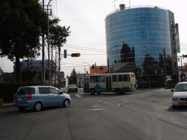 バスがきた・・