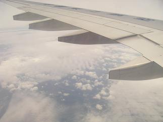 空の上・上海へ~