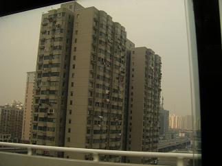 大きな上海のビル