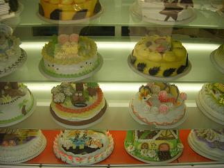 ちょっと面白いケーキ屋さん