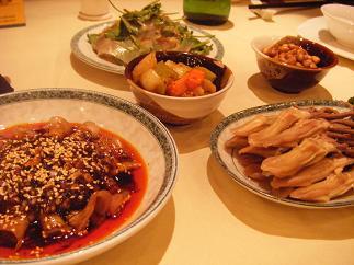 四川料理色々