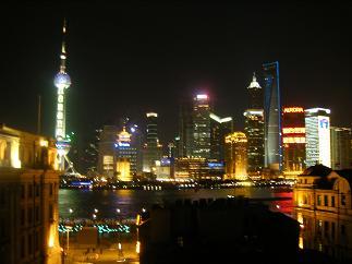 上海の夜景・2