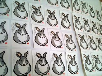 ウサギ大量生産!