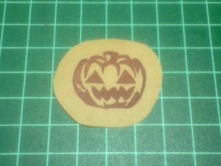 かぼちゃはんこ1
