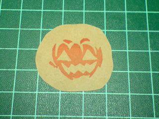 かぼちゃはんこ2