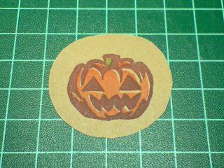 かぼちゃはんこ3