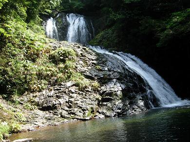 八汐滝と八塩滝