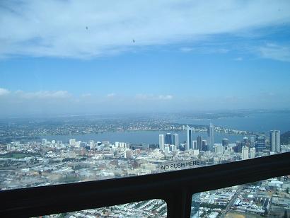 空から見たパースシティ
