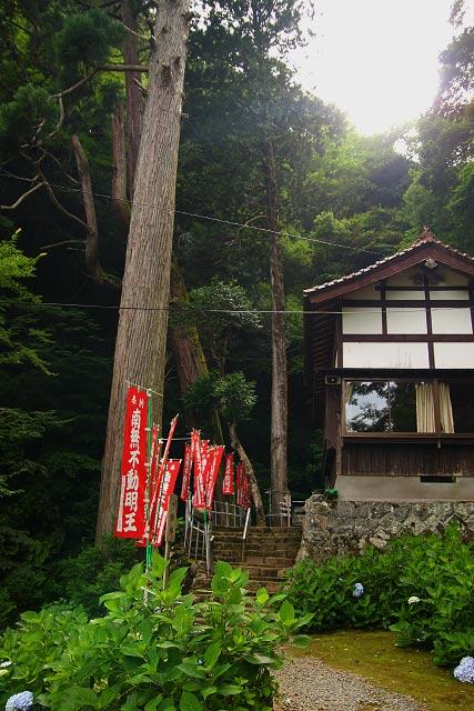 不動滝・湯原滝・妙円滝(鳥取市青谷町)