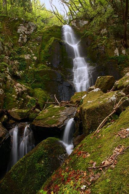 江府町~幻の七段滝、白馬の滝