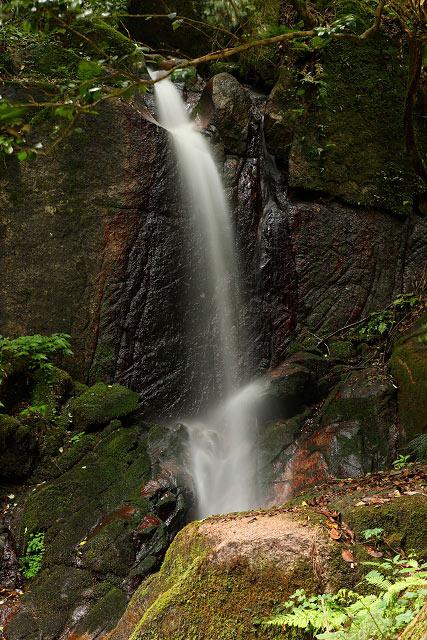 南部町赤谷 観音滝