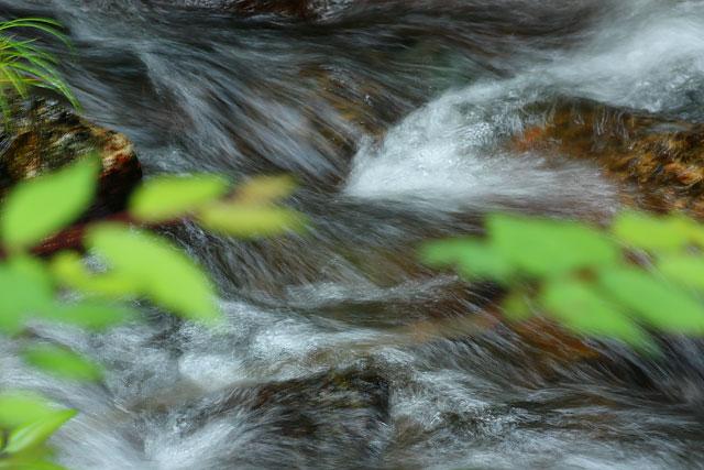 真庭市「神庭の滝」