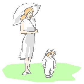 ジェンヌと赤ちゃん