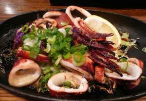 蝦蟇 するめいか焼き