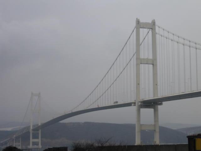 白鳥大橋再び・・・