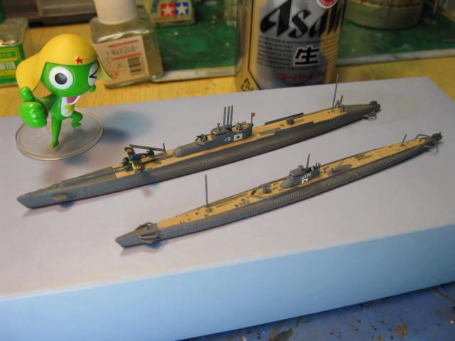 伊-9と伊-171の4