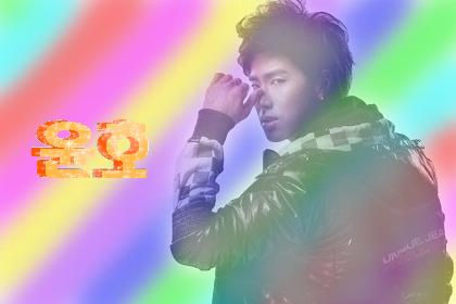 ゆの 虹 デコ画