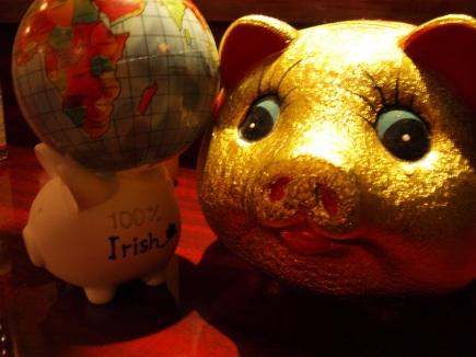 アイルランド旅豚!