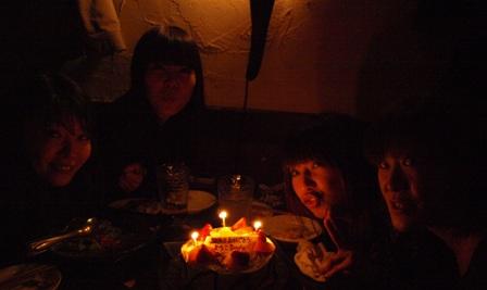 ようこちゃん誕生日おめでとう!