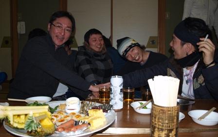 2009年スノボー企画 なおさんチーム!