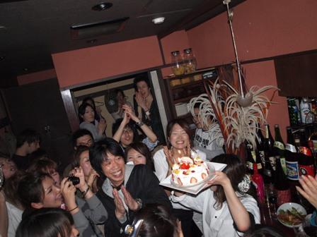 尚ちゃん送別会ケーキ