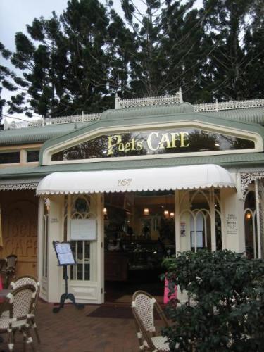 Poet cafe