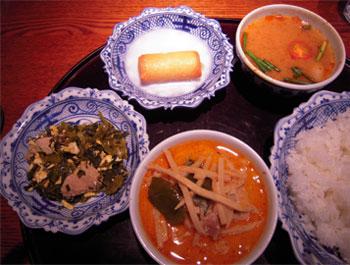 メナムのほとり タイ料理