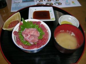 マグロ丼~♪