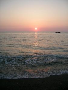 日が沈む~1