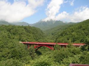 有名な赤い橋