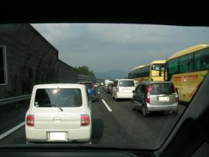 渋滞。。。