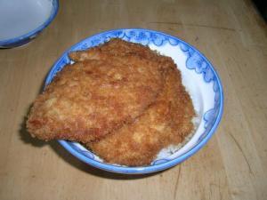 ワラジカツ丼2